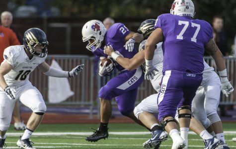 Wildcats plow through George Fox Bruins