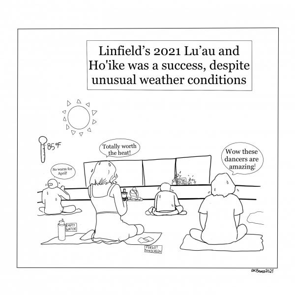 Luau-Comic