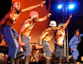 Step Afrika troupe kicks off annual Diversity Week