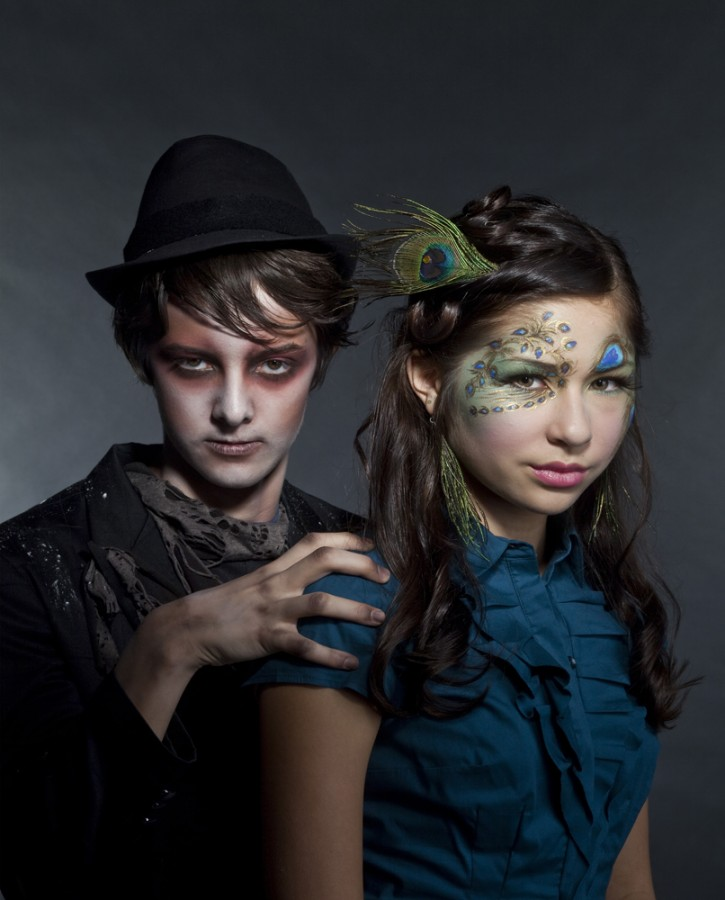 Popular culture is ruling the teenager costumes this Halloween with vampires and zombies taking center stage. Bill Hogan/Chicago Tribune/MCT