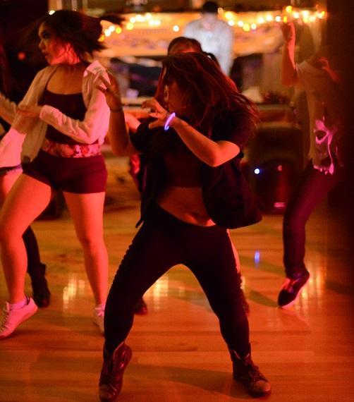 Rocktober dance lights up the night