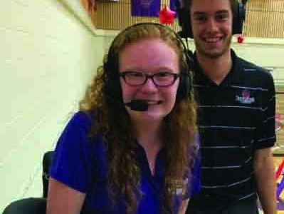 Students gain professional broadcasting experience