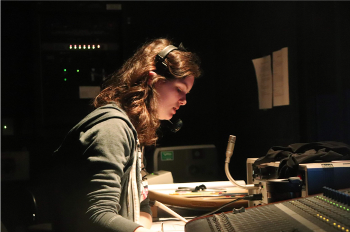Youre doing great Bri thank you so much, Clem Dorsey, 21, stage manager of She Kills Monsters, said calmly to Bri Rico on lights. Dorsey quickly corrects a cue error in her prompt book, moving in the keep tech day at a fast pace.