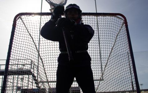 Between the pipes: Why be a lacrosse goalie?