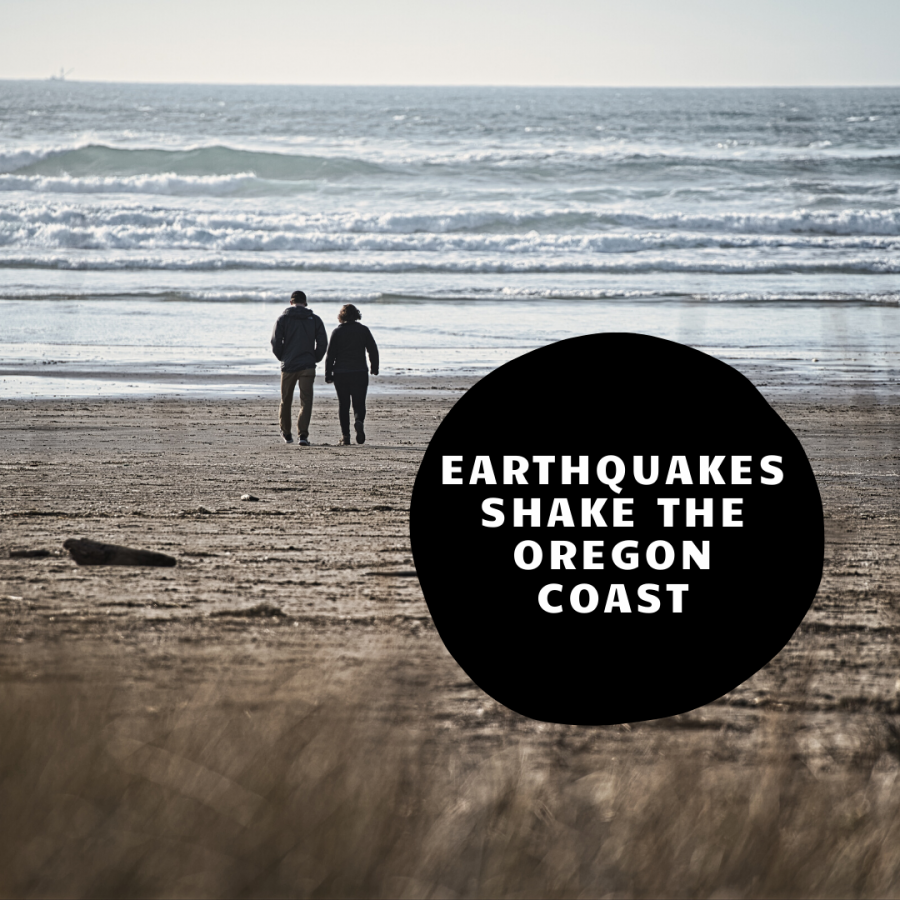 October 21 earthquake marks fifth off Oregon coast this month