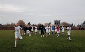 110 minute battle ends men's soccer season