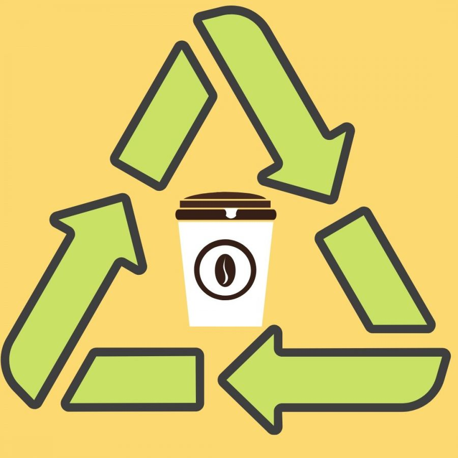 Linfield%E2%80%99s+Starbucks+sends+over+100+pounds+of+disposable+cups+to+the+landfill+each+month.