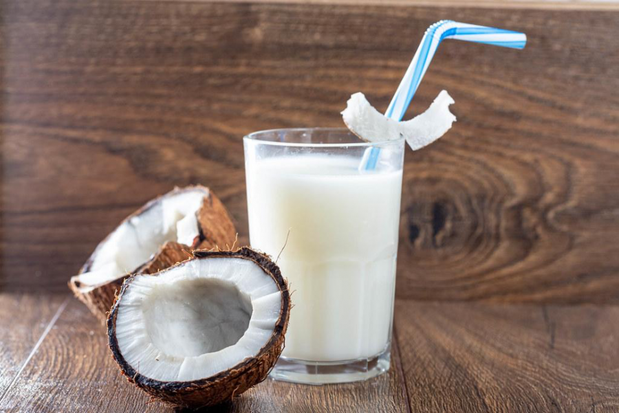 Alternative milks are on the rise, such as coconut milk.