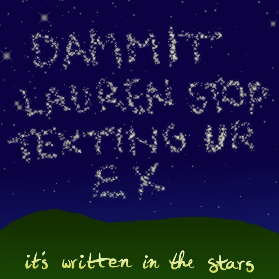 It's written in the stars.