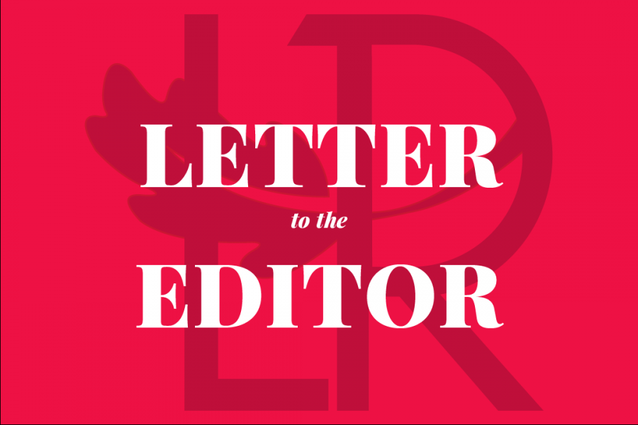 Letter to the editor: student asks for transparency