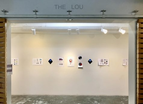 The Lou Gallery entrance