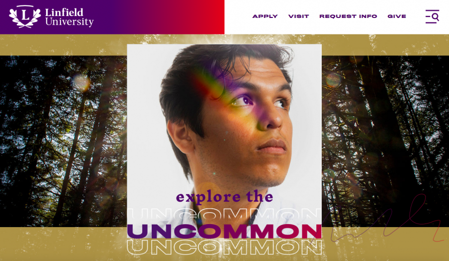 A new online face for Linfield University