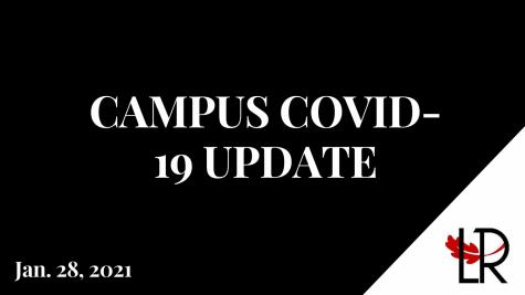 Campus COVID-19 update: Jan. 28