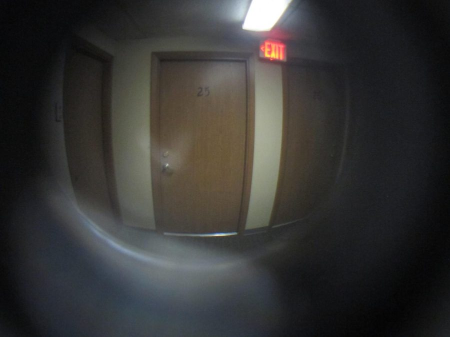 Peepholes are set to be installed in every dorm room at Linfield (Flickr).