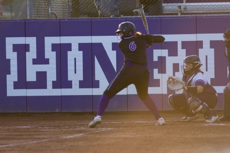 Junior Abi Proffitt hit a grand slam Wednesday night against Bushnell, her first homerun of the year.