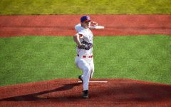 Junior ace Colton Meyer threw four strikeouts in Linfield baseball's home opener.
