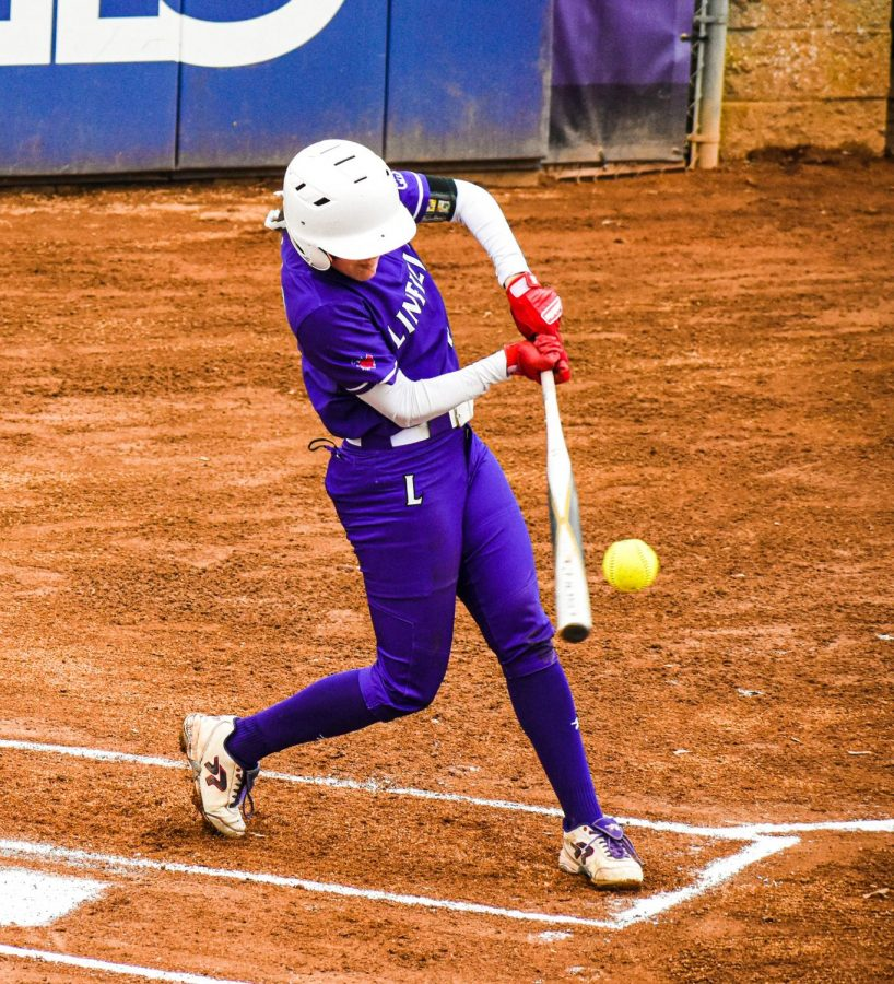 Junior Katie Phillips went 3 for 6 in Saturday's doubleheader vs. Eastern Oregon.